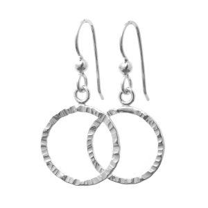 CIRCLA earrings handmade 925 sterling silver by GULDVIVA