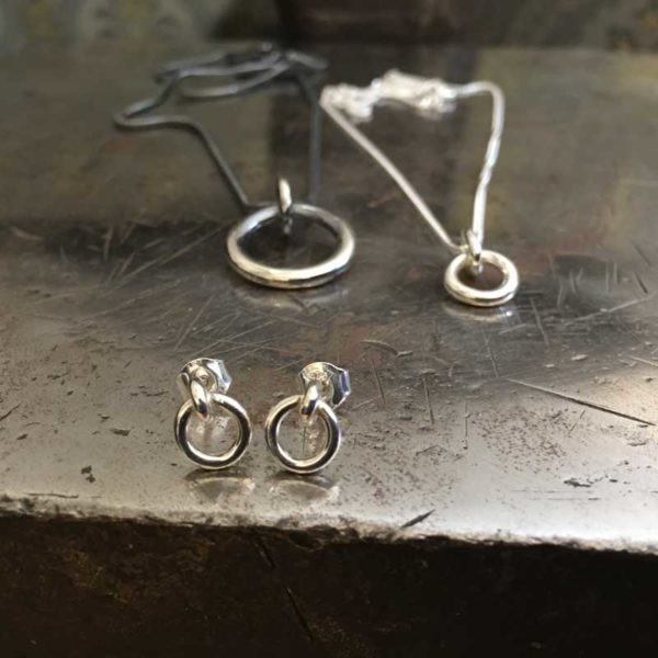 I Hamn sterling silver collection, handcrafted by GULDVIVA, using recycled material.