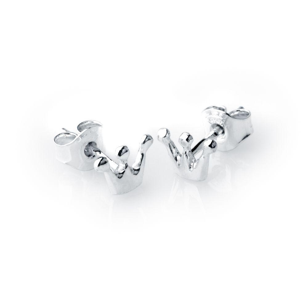 PRINSESSKRONA örhängen på stift-0