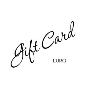 Gift card in EURO currency, GULDVIVA
