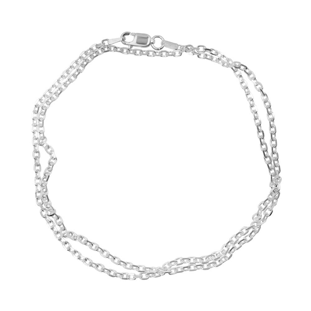 Anchor chain in sterling silver. Available from GULDVIVA.